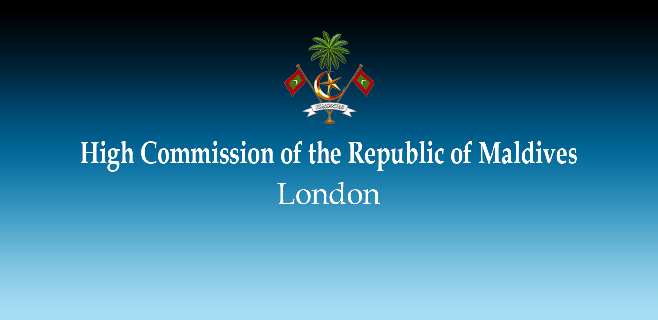 The High Commission of the Republic of Maldives will be
